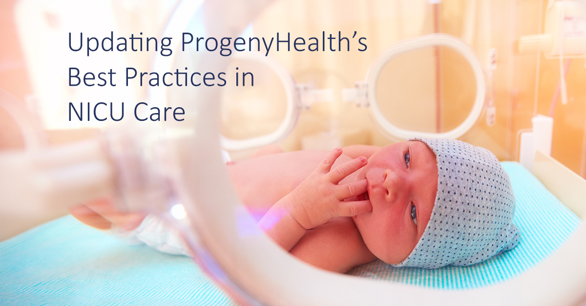 ProgenyHealth Best Practices in NICU Care